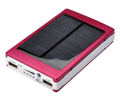 USBソーラー両用スマホ充電器 ... : スマホ 充電器 ソーラー 自転車 : 自転車の